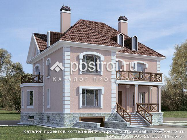 Проекты домов из пеноблоков и газобетона от 250 до 400 м2..